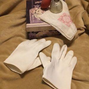 Vintage Short Gloves